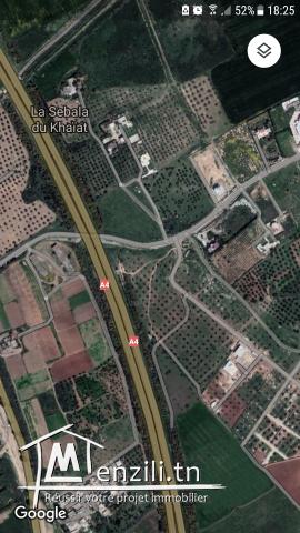 Lots de terrains de 392 m2, 521 m2, 1000 m2 et 1521 m2 à proximité de géant et cebelet ben ammar