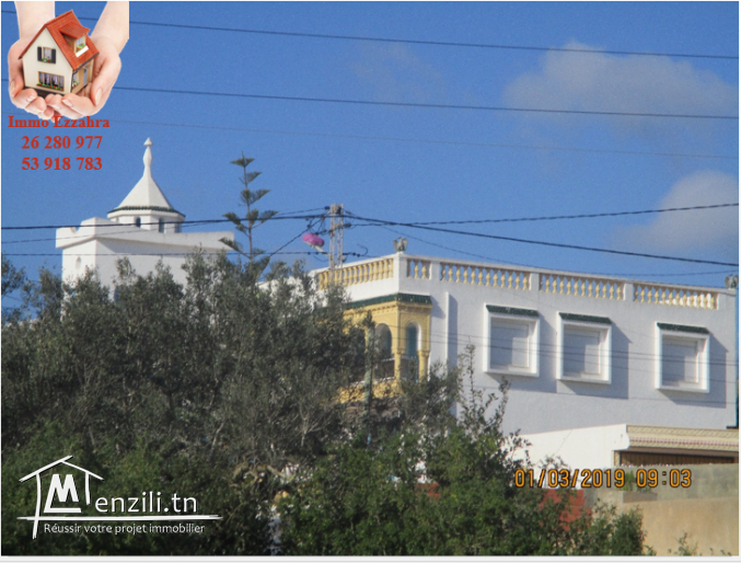 à vendre terrain ezzahra