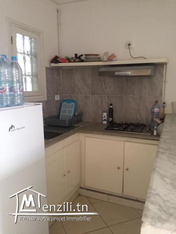 Appartement Meublé s+1 à sidi Abd el Aziz ref: MAL0226