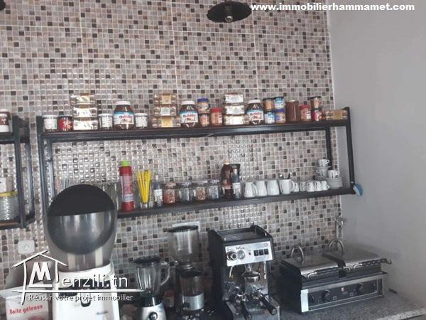 Restaurant fond de commerce à Yasmine Hammamet