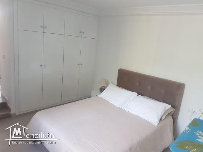 Appartement Meublé s+1 à la marsa ref: MAL0222