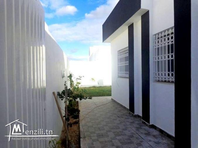 magnifique villa neuve avec garage zone touristique hammamet