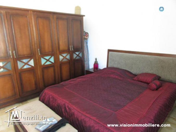 Vente appartement les iles S+3 Hammamet-nord