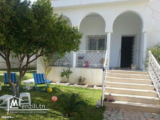 Deux étages de villa à 530 000 DT à Hammamet Nord