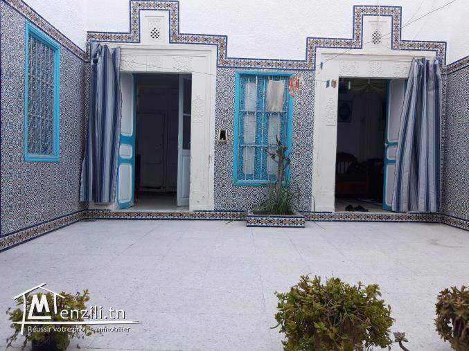 maison arabesque à Nabeul