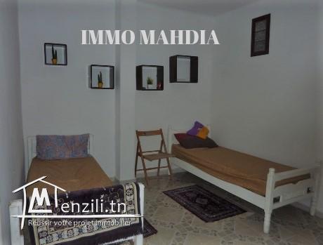 une maison indépendante meublée