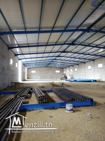 LOCAL INDUSTR 4312 M2 TUNIS OUEST