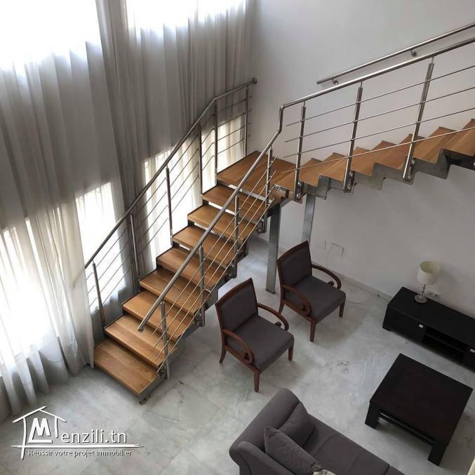 Loft luxueux s+2 meublé ou non-meublé LAC 2