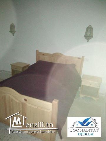 L38 : LOCATION SAISONNIÈRE D'UN STUDIO S+1 EN FACE HOTEL DAR DJERBA