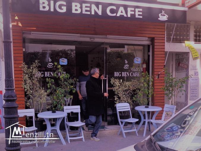 av fond commerce une cafétéria cente ville hammamet