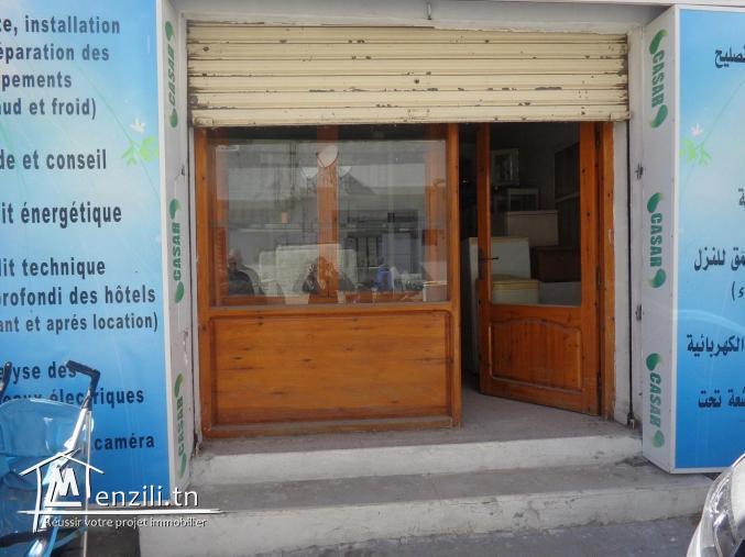 Fond de commerce à vendre à hammamet au plein centre ville