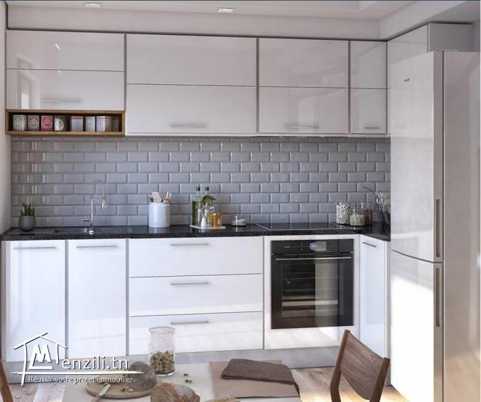 Appartement s+1 au RDC de 72 m² à AFH Mrezga