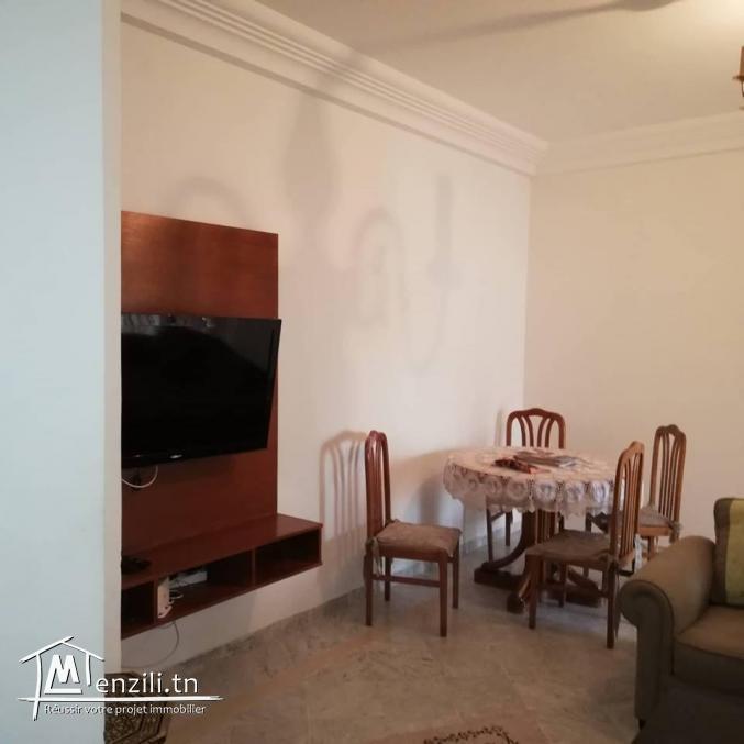 appartement s+2 au 2 ème étage à l'aouina
