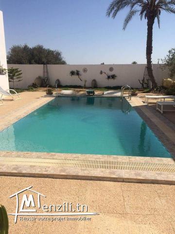 maison avec piscine pour les vacance