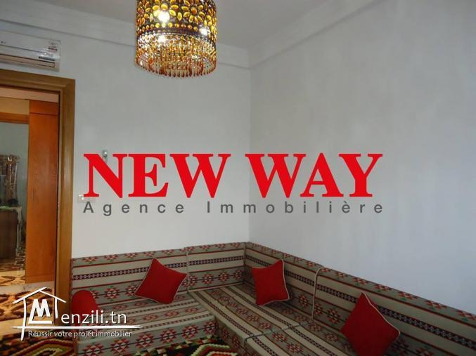 Appartement (S+2) à sousse vue de mer de 135 m² avec place de parking