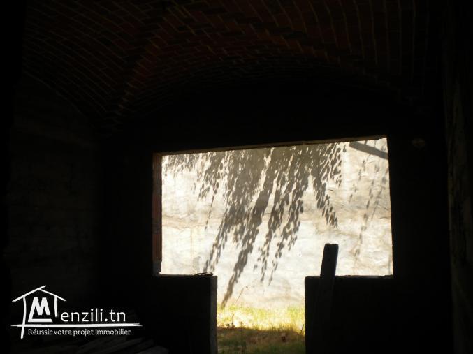 Etage de villa inachevé à Hammamet Nord à 300 MDT
