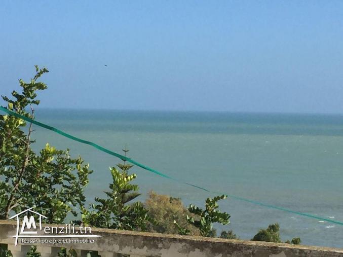 Terrain plein vue sur mer à Gammarth Supérieur