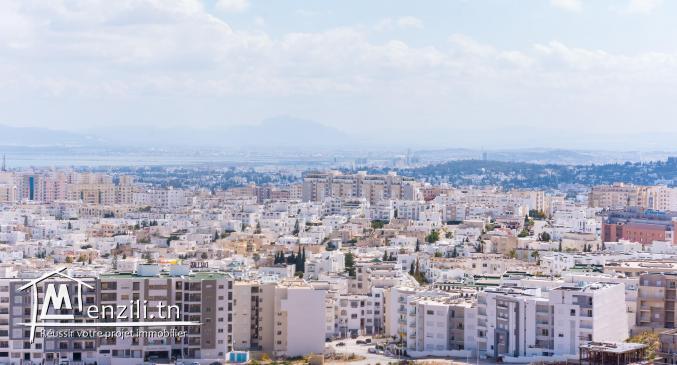 A vendre s+4 avec chambre de service vue panoramique sur le grand tunis
