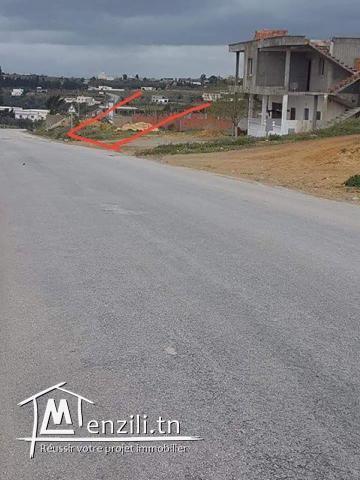 terrain de 924 m² à borj hfaiidh
