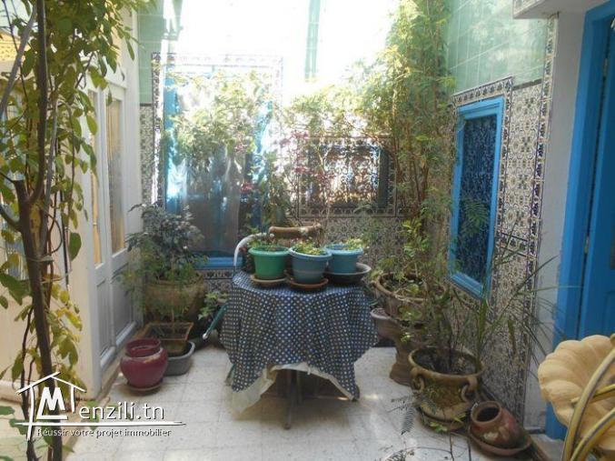av une maison style arabesque au nabeul  G
