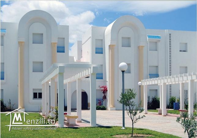 A Hammamet Appart S2 +Salle à manger ds Résidence