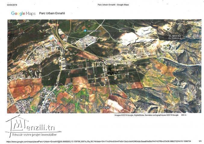 terrain riadh andalous 660m²