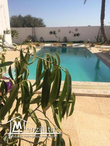 villa vu mer pour location à Houmet Souk