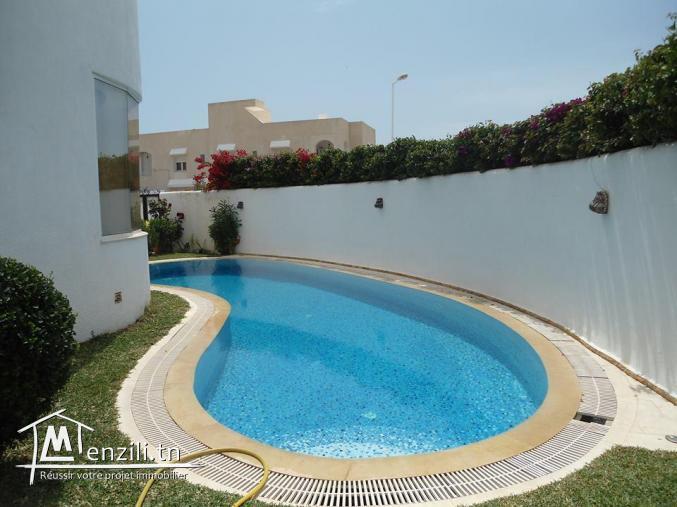 Maison location splendide villa avec grande piscine - Location villa hammamet avec piscine ...