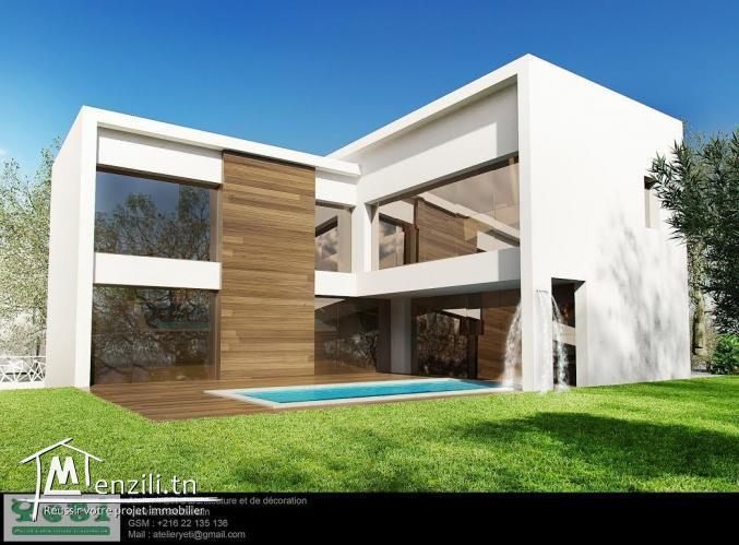 Villa inachevée à Soukra