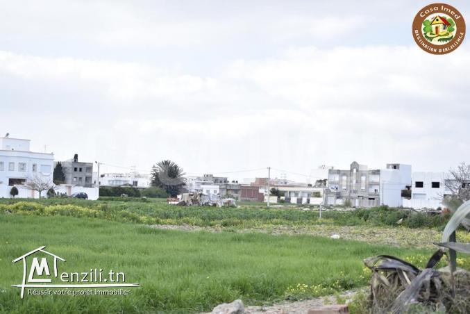 terrain front mer à Beni Khiar