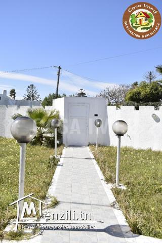 villa à vendre vue sur mer à Maamoura
