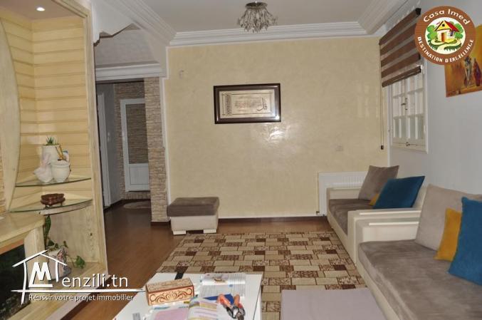 un superbe appartement à Maamoura à vendre