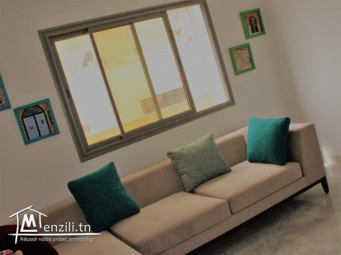 appartement meuble s1 neuf   kram
