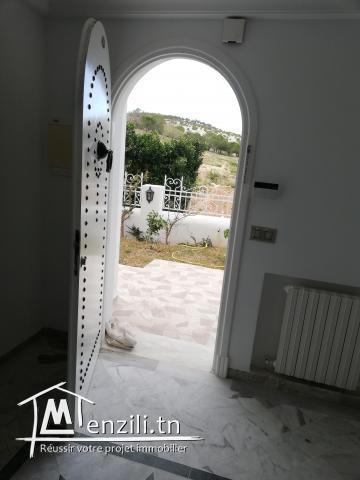 Duplex de haut Standing avec entrée indépendante et jardin