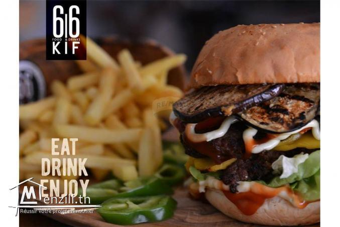 Fond de commerce Restaurant Fast Food
