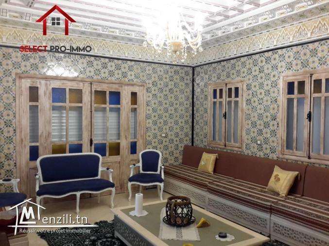 Villa de Charme à Hammamet – NLE050