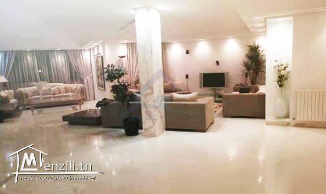 Une magnifique villa à cité militaire Bouhsina– Sousse.