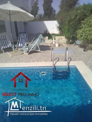 Villa S+3 à Hammamet – NLE035