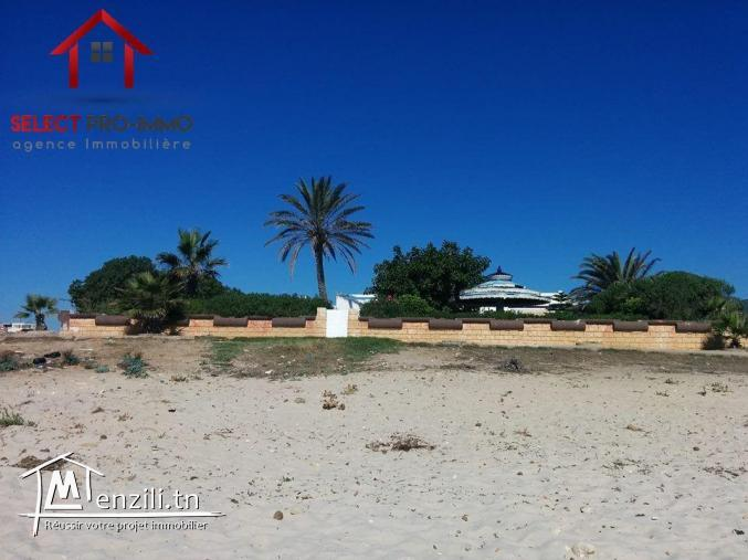 Villa S+4 à Maamoura plage – NLE033