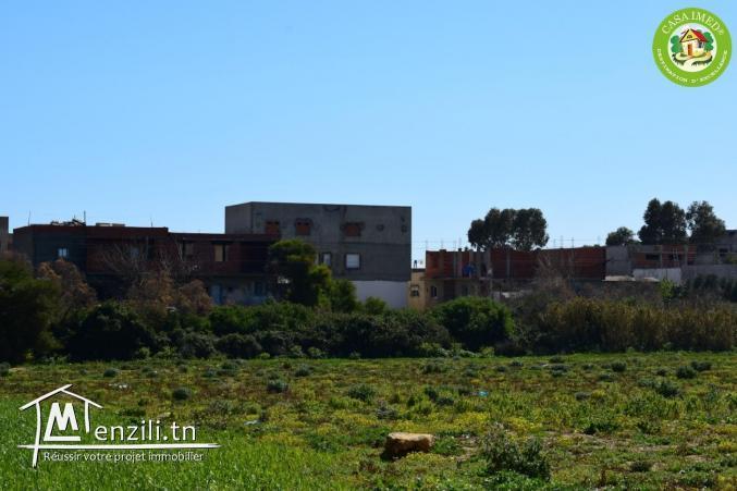 un terrain constructible a vendre au centre ville kélibia