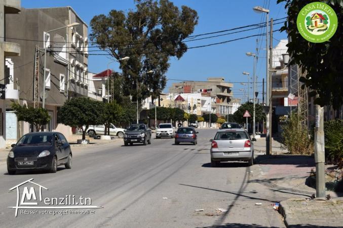Terrain constructible à Kelibia ville :prés de toutes les commodités