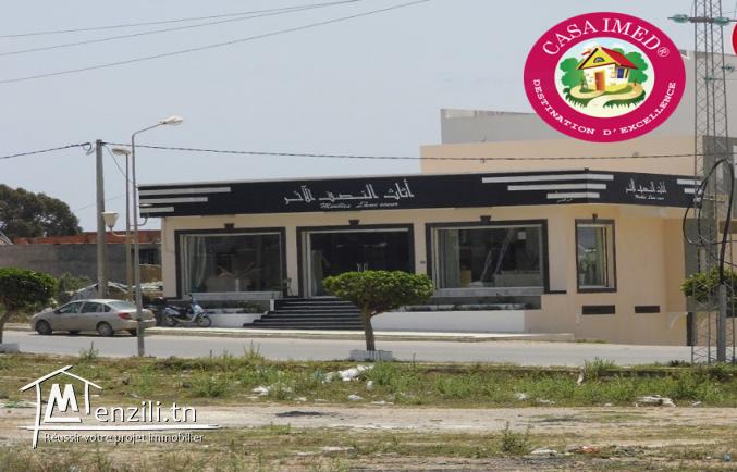un terrain constructible a vendre à kelibia route de tunis pour plus d'info 26875066
