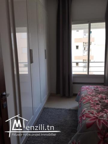 Appartement Meublé s+1 à Ain Zaghouan nord ref: MAL0278