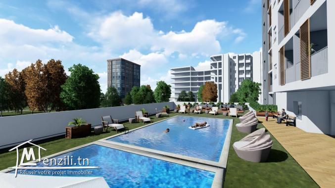 Appartement S+1 de 68 m² à AFH Mrezgua