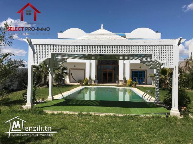 Villa de Charme à Hammamet – NLE049