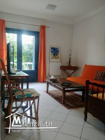 Appartement S+1 à gammarth ref: MVL0145