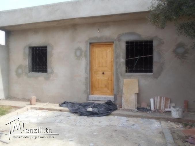 maison avec jardin et garage a jabnoun  gh