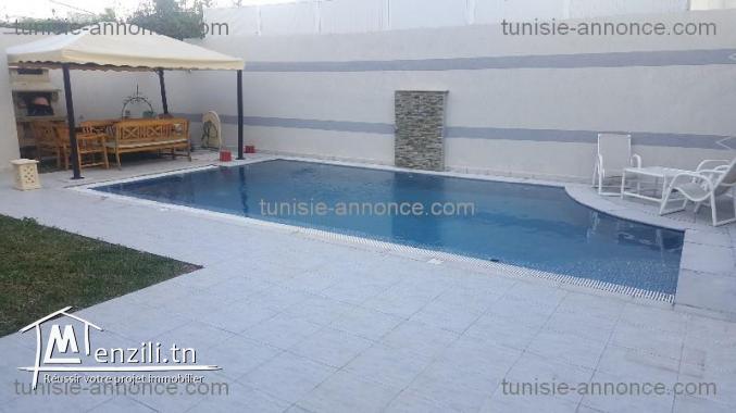 Vente : appartement avec piscine à la marsa