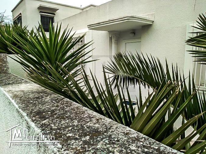 Vente : Vente Villa S+5 à La Marsa Nassim