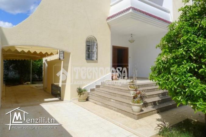 Villa de 500 m² sur un terrain de 387 m² à Sahloul
